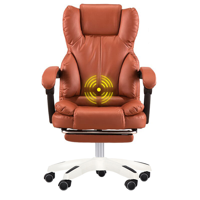 Office Furniture Lovely Home Computer Chair Can Lie Lifting Boss Chair Leather Swivel Chair Discounts Sale