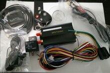 Cuatribanda perseguidor del GPS apoya el control remoto, en tiempo Real GSM / GPRS de seguimiento de vehículos Car Tracker GPS 103B