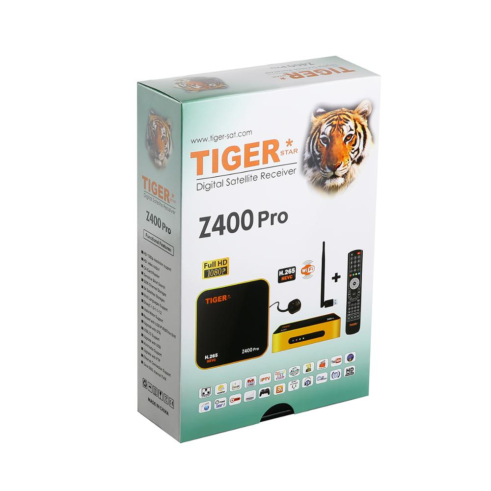 US $85 0 |Tiger star Z400 pro Satellite IPTV Receiver Satellite Receiver  wifi cccam for Arabic,Europe,iptv channels over 700 channels -in Satellite  TV