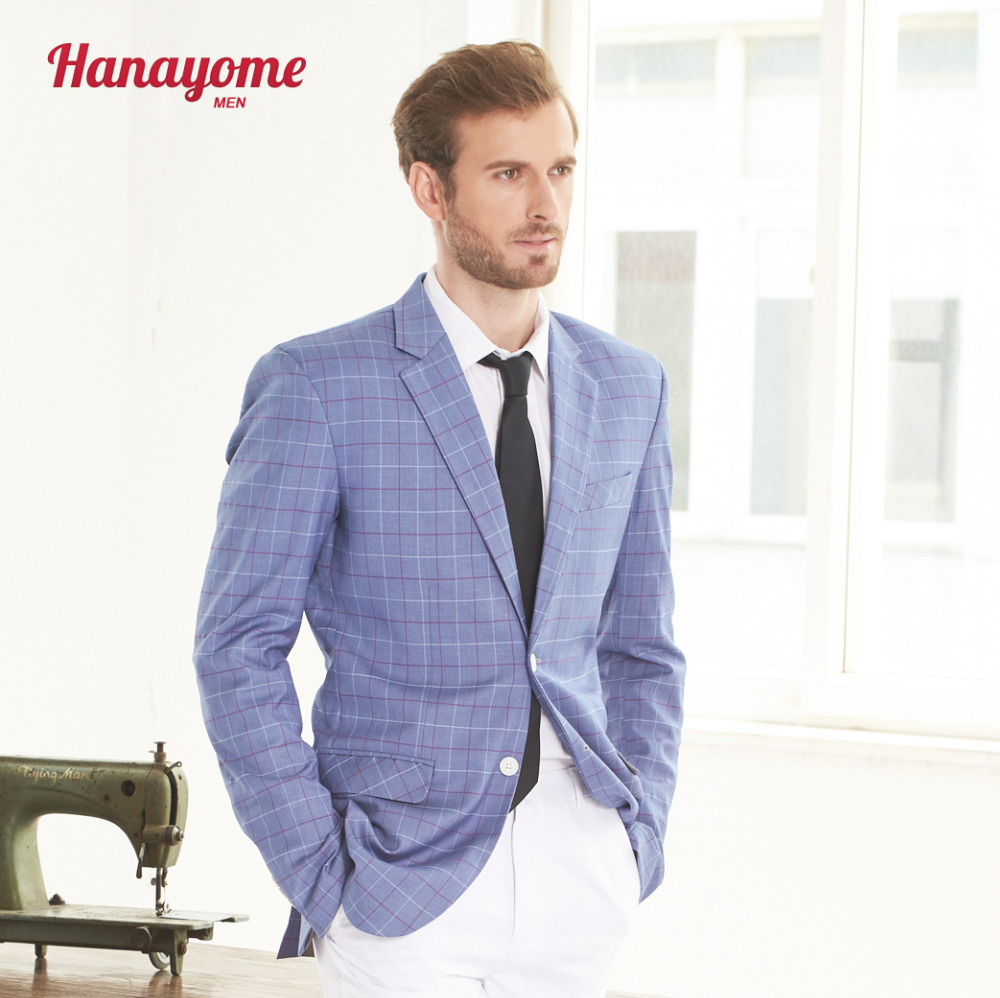 Hanayome Mens Tailored Plaid Suits 2017 Elegant Purple Checked ...