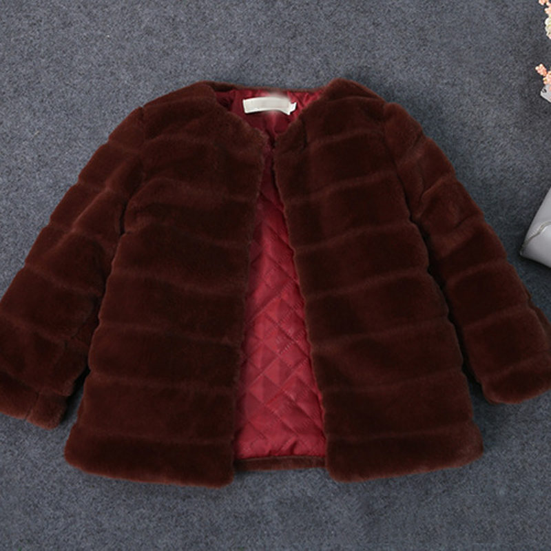 JKP children's girls fur coat autumn and winter new Rex Rabbit hair boys coat baby wool sweater thick warm cotton coat FPC-65 2017 fashion design pure hand made thick sweater coat women winter thick coarse linesthick warm high necked white sweater