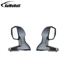 1 Pair Black Color Wide Angle Rear Mirrors Car Blind Spot Square Side View Flat Mirror Side Rear View Mirror