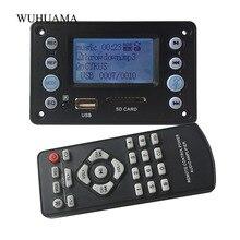 5 v lcd letras mp3 decodificador placa bluetooth 4.2 receptor de áudio ape flac wma wav decodificação suporte gravação exibição rádio