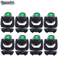 8lot moving head 200W beam spot light 3in1 led gobos Stage Light For Christmas Party Color DJ Wash Projector Effect