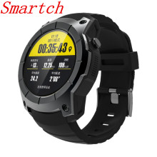 Smartch S958 GPS Smart Watch Multi-function Sport Watch Heart Rate Monitor Watch Support SIM TF Card Barometer Activity Track Mu