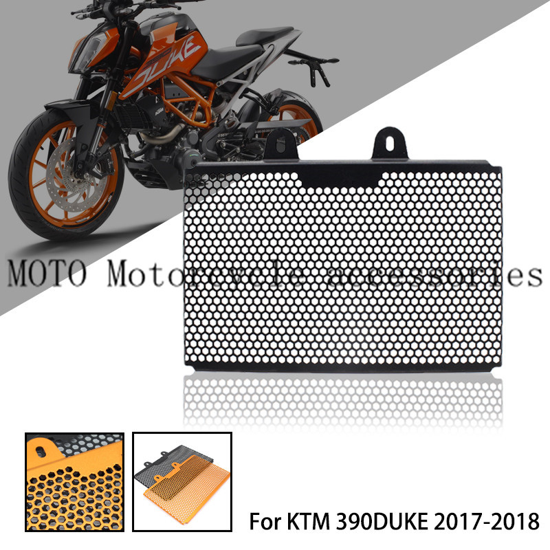 For KTM Duke 390 2018 2017 Motorcycle Radiator Guard Covers Paint Grill Orange Motocross Accessories Grille Heat sink WaterFor KTM Duke 390 2018 2017 Motorcycle Radiator Guard Covers Paint Grill Orange Motocross Accessories Grille Heat sink Water