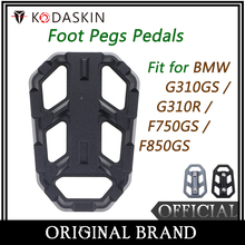 KODASKIN Motorcycle Foot Pegs Pad Billet Wide Footpegs Footrest Rest for BMW G310GS G310R F750GS F850GS
