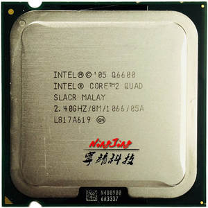 Intel Q6600 2.4 GHz 8 M 95 W Quad-Core CPU Processor Core 2 Quad