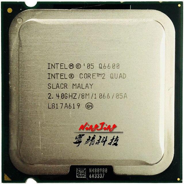 إنتل كور 2 كواد q6600 2.4 جيجا هرتز رباعية النوى المعالج 8 متر 95 واط lga 775