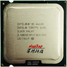 Intel Core 2 Quad Q6600 2.4 GHz Quad-Core CPU Processor 8M 95W LGA 775(China)