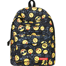 school bags for boys backpack Printing Emoji Backpack Fashion Youth Schoolbags Teenager Girls scool bag