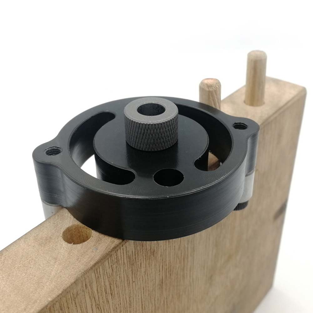 1pc Self-centering 6 8 10mm Dowel Jig Wood Panel Puncher Hole Locator Central Holing Position Measuring Drilling Woodworking