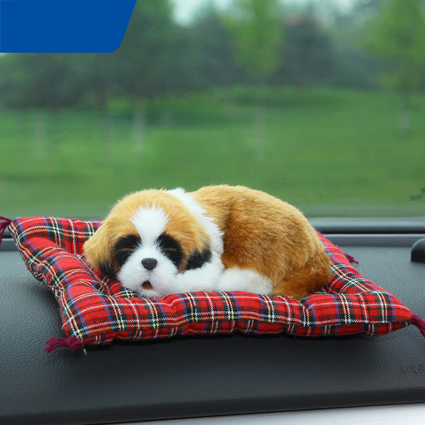 Lovely Animal Air Freshener Car Simulation Dog & Cat Solid Charcoal Bag For Car/Household Accessories QP227