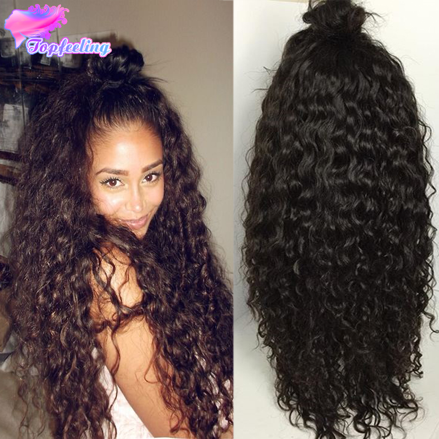 Loose Deep Curly Lace Wigs 7A Malaysian Deep Curly Human