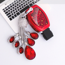 New Soft TPU Flowing star Car key case cover shell 2&3 Button Smart For Mercedes Benz Accessories W203 W210 W211 W124