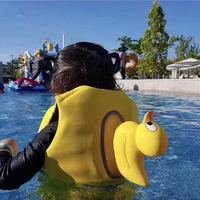 Baby Water Sports Swiming Vest Yellow Duck Survival Jacket Swimming Buoyancy Aid Life Jacket Vest Inflatable Life Vest