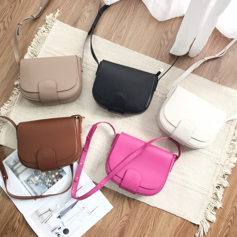 Kafunila genuine leather saddle bags for women 2019 luxury handbags women bags designer crossbody shoulder bags bolsa femininaKafunila genuine leather saddle bags for women 2019 luxury handbags women bags designer crossbody shoulder bags bolsa feminina