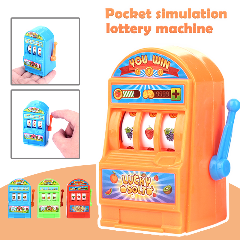 Winning Toys Lucky Slot Machine Decompression Toys Fruit Machine Plastic Toy Children Multi-Function Gift Cool Play Toys Game