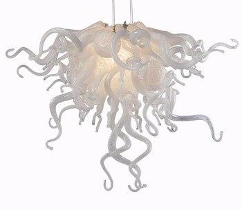 Top Qualität Geblasen Murano Glas Wohnkultur FÜHRTE Kunst Kleine und Günstige Kronleuchter