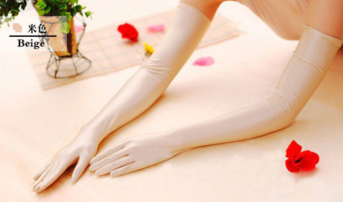 Sun Block Arm Sleeve Outdoor Armwarmers Pair Keep Warm Arm Sleeve Outdoor   Elastic Breathable