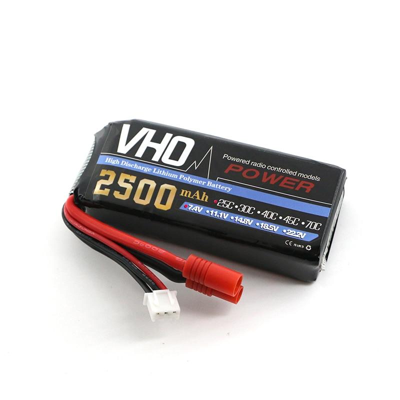 VHO Power Syma X8W RC Drone Lipo Battery 2S 7.4v 2500mAh For Syma X8 X8A X8C X8W X8G X8HC X8HW X8HG RC helicopter Spare Parts syma x8c x8w x8g x8hc x8hw x8hg x6 f1