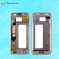 Оригинал Для Samsung Galaxy S7 Edge G935 Передняя Корпус ЖК Рамка Рамка Плиты, Золото, Серебро, Черный