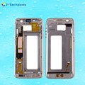 Original For Samsung Galaxy S7 Edge G935 Front Housing LCD Frame Bezel Plate,Gold Black Silver