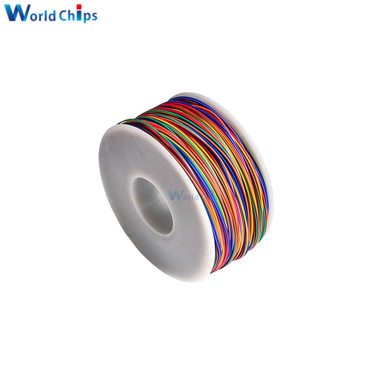 Image 4 - Wrapping Wire 280M 30 AWG B 30 1000 8 color AWG30 Cable Breadboard Jumper Colored Insulation-in Integrated Circuits from Electronic Components & Supplies