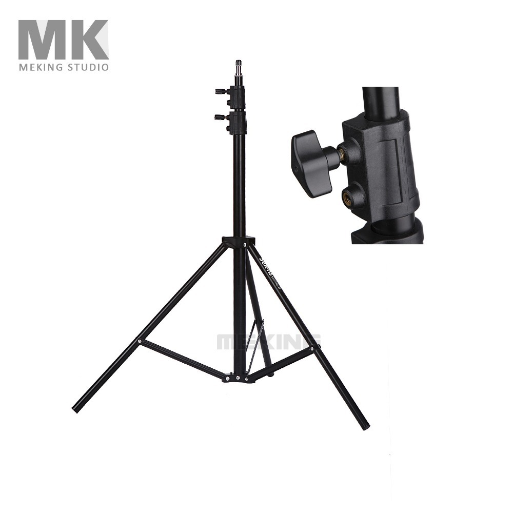 Selens Photo Studio Heavy Duty Light Stand 260cm/8.5ft SGS-2600 for photographic video lighting support system holder  цены