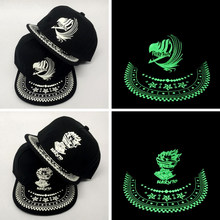42299642ed2 Unisex Luminous Baseball Hat Fluorescent Caps girl Light Snapback Cap Glow  In The Dark hip hop