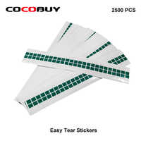 2500PCS/Lot OCA / Polarizer /Glas Easy Tear Stickers for iPhone and For Samsung Any TAPE Easy tear stickers Tear OCA Laminating
