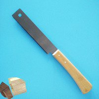 Mini WoodWorking Hand Saws Double Sides Steel SK5 Tenon Saw Fine Tooth Wood Handle