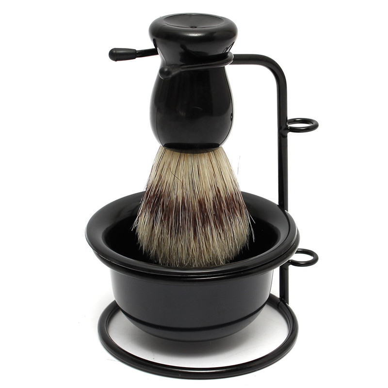 Old Fashioned Shaving Brush And Mug