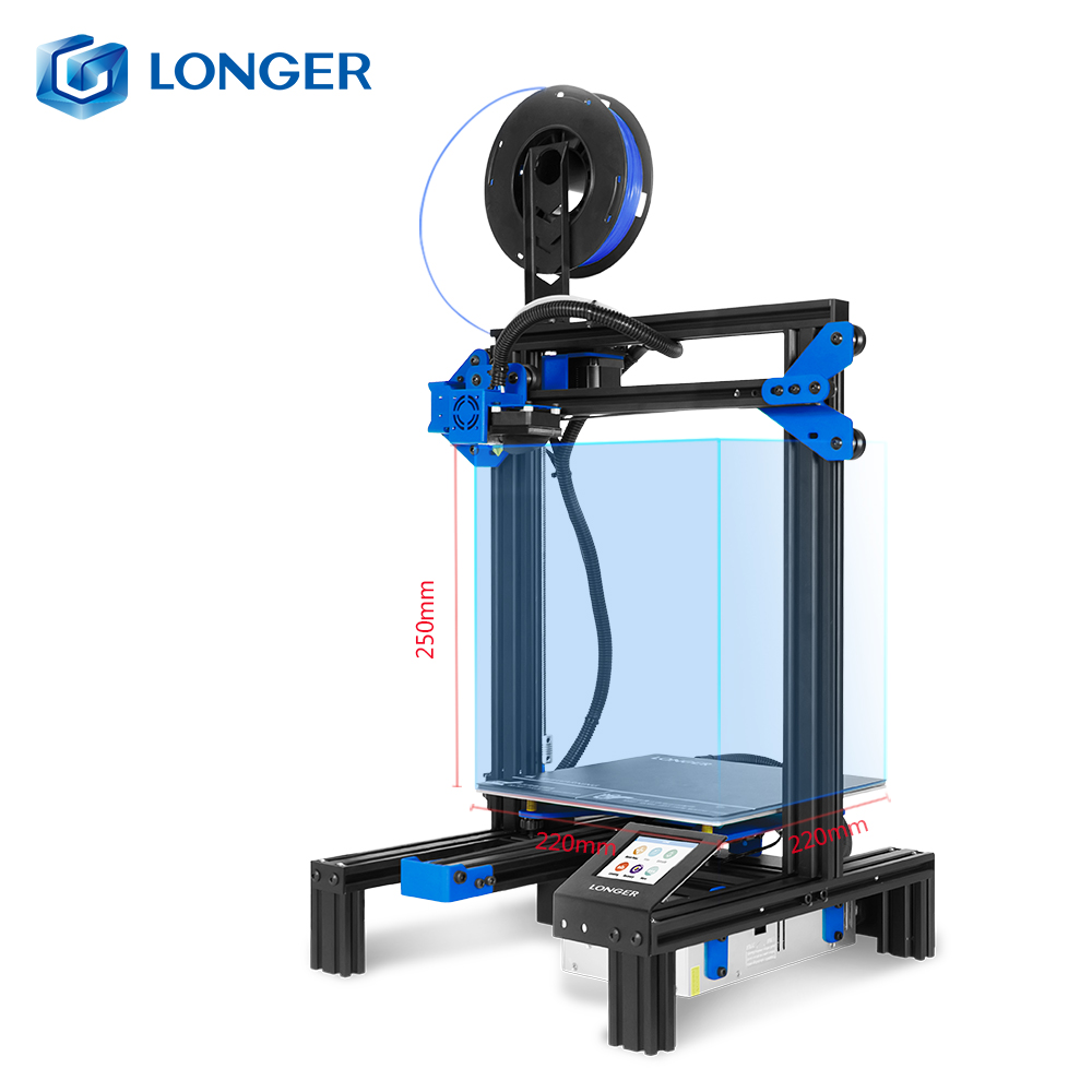 LONGER 3D Printer FDM LK2 High Precision 3D Drucker Impresora 220X220X250LONGER 3D Printer FDM LK2 High Precision 3D Drucker Impresora 220X220X250
