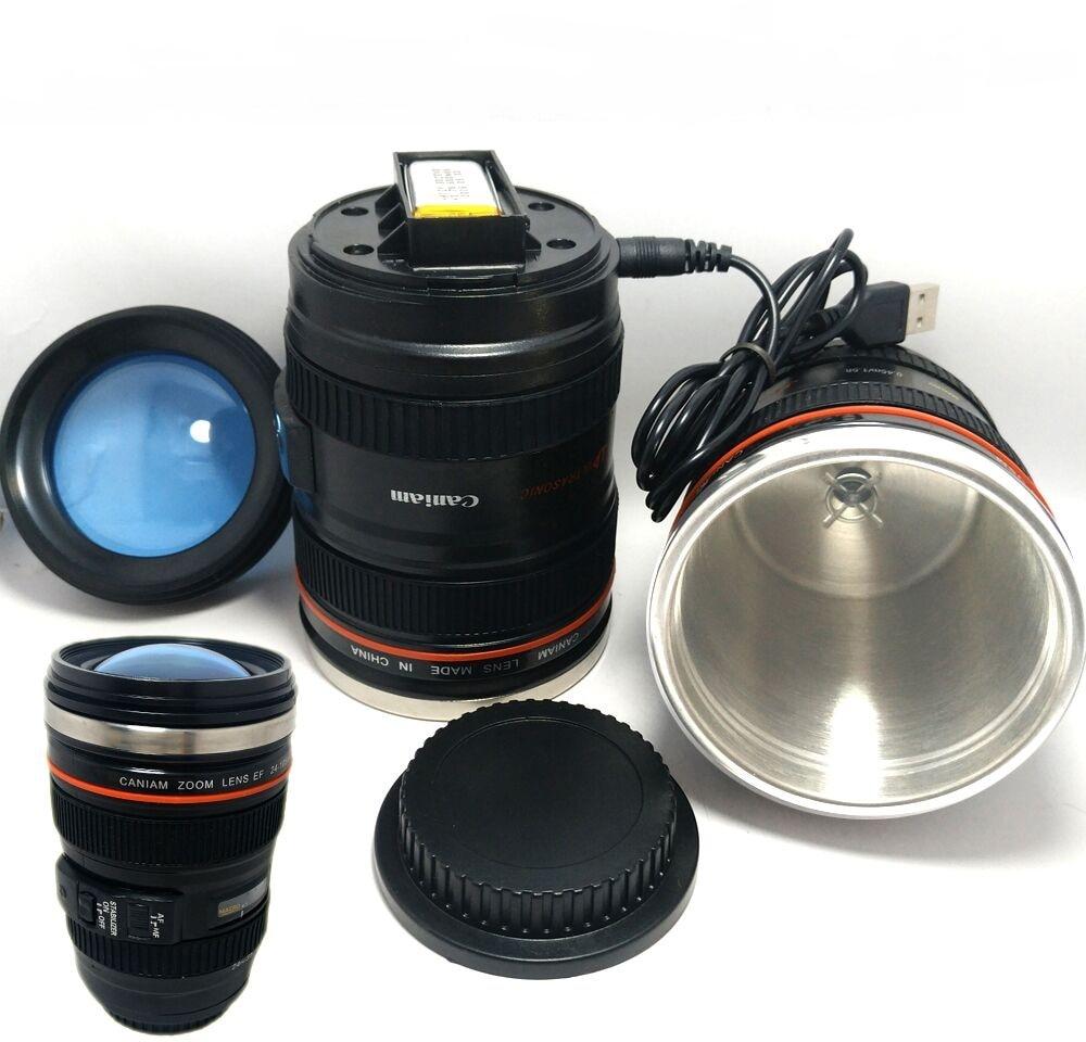 Lens Mug 05 Stirring Us11 Cup Skinny MixerCamera In 15Off Electric Mixing Drinking Self Bluw Moo Shape automatic Coffee rWoedCxB