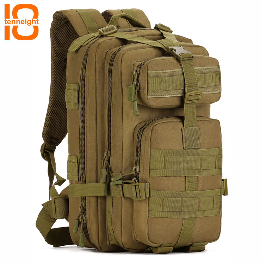 TENNEIGHT 30-40L Outdoor tactical backpack waterproof Sport Camping climbing bag computer backpack Travel hunting Backpack цена