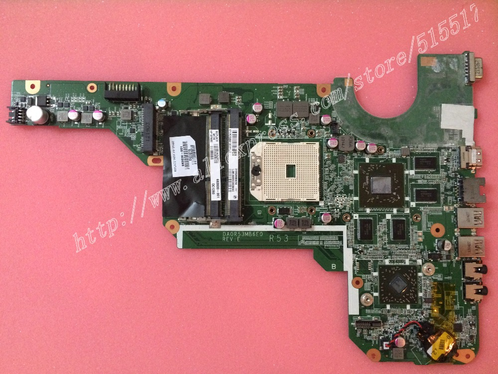 For 683030-501 683030-001 Motherboard For HP Pavilion G4 G6 G7 DA0R53MB6E1 REVE R53 Notebook Mainboard  free shipping 683030 001 683030 501 for hp pavilion g4 g6 g4 2000 g7 g6 2000 motherboard r53 da0r53mb6e0 da0r53mb6e1