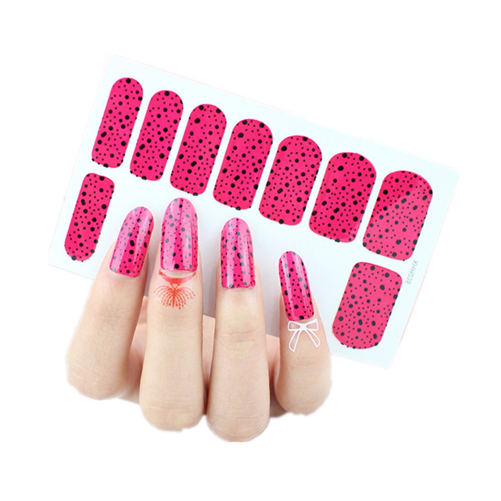 Colorful Nail Art Stickers For Gel Nails Embellishment - Nail Art ...