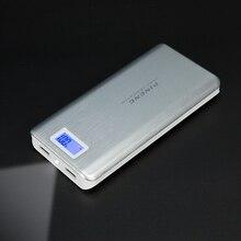 Original PINENG PN 999 20000mAh High Capacity Mobile Power Bank Dual USB Charging with Flashlight Portable External Battery