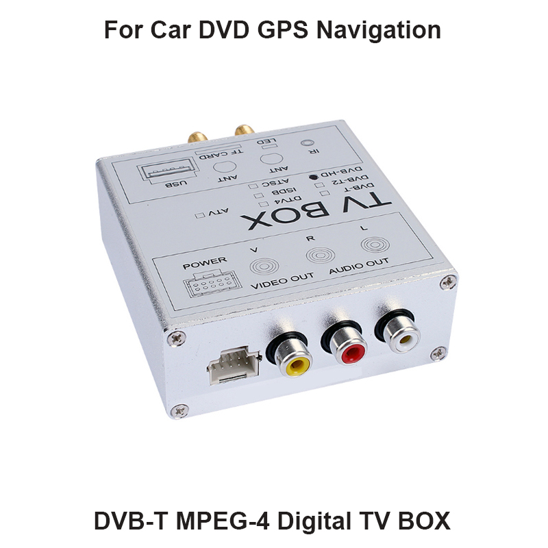 Free shipping Car Digital TV Box DVB-T MPEG-4 DVB-T receiver for European Countries with 2 antenna, support 120KM/H freeview hd high speed dual antenna dvbt2 digital car tv tuner dvbt2 receiver with dvb t2 and h 264 mpeg 4 mpeg 2 dvb t2 box