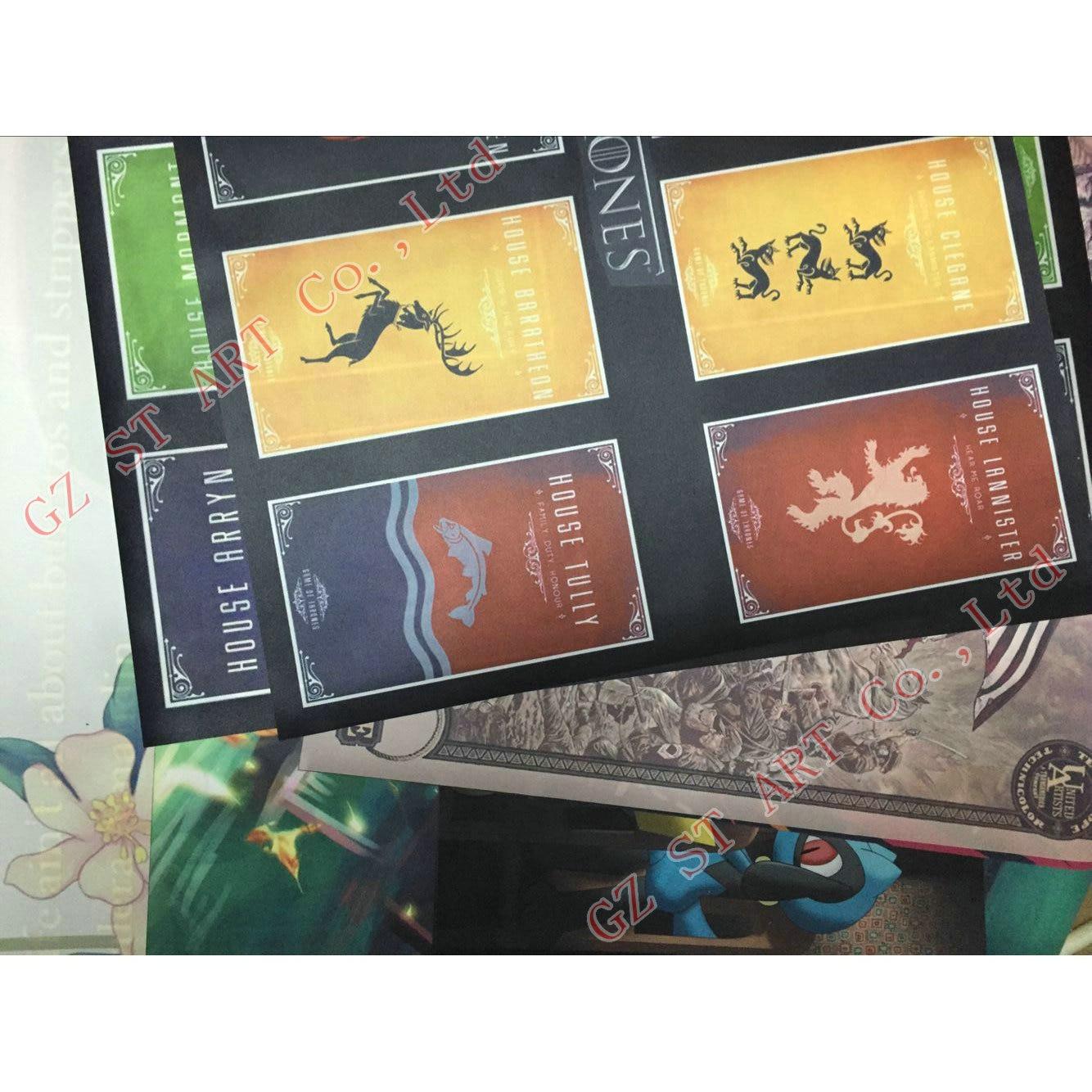 Star Wars 7 The Force Awakens Art Silk Fabric Tiskanje plakata 13x20 - Dekor za dom - Fotografija 4