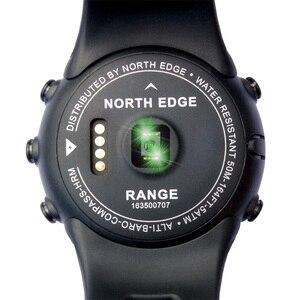 Image 5 - North Edge Men Sports Digital Watches Waterproof 50M Clock GPS Weather Altimeter Barometer Compass Heart Rate Hiking Watch