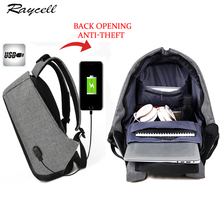 Men Anti-theft Backpacks With USB Charge Laptop Women Backpack for Men Big Capacity Waterproof Male Female Travel Backpack