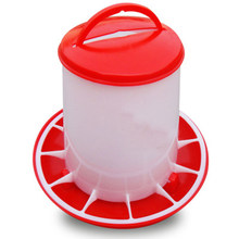 Poultry Holder Dispenser Feeder Tool 1.5kg/3kg Accessory 1pc Chicken Hen Chook Eating Food Container Convenient Chicken Feeder(China)