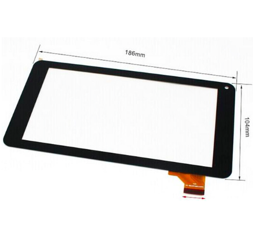 купить New touch screen For 7 DEXP URSUS NS170i Tablet Touch panel Digitizer Glass Sensor Replacement Free Shipping дешево