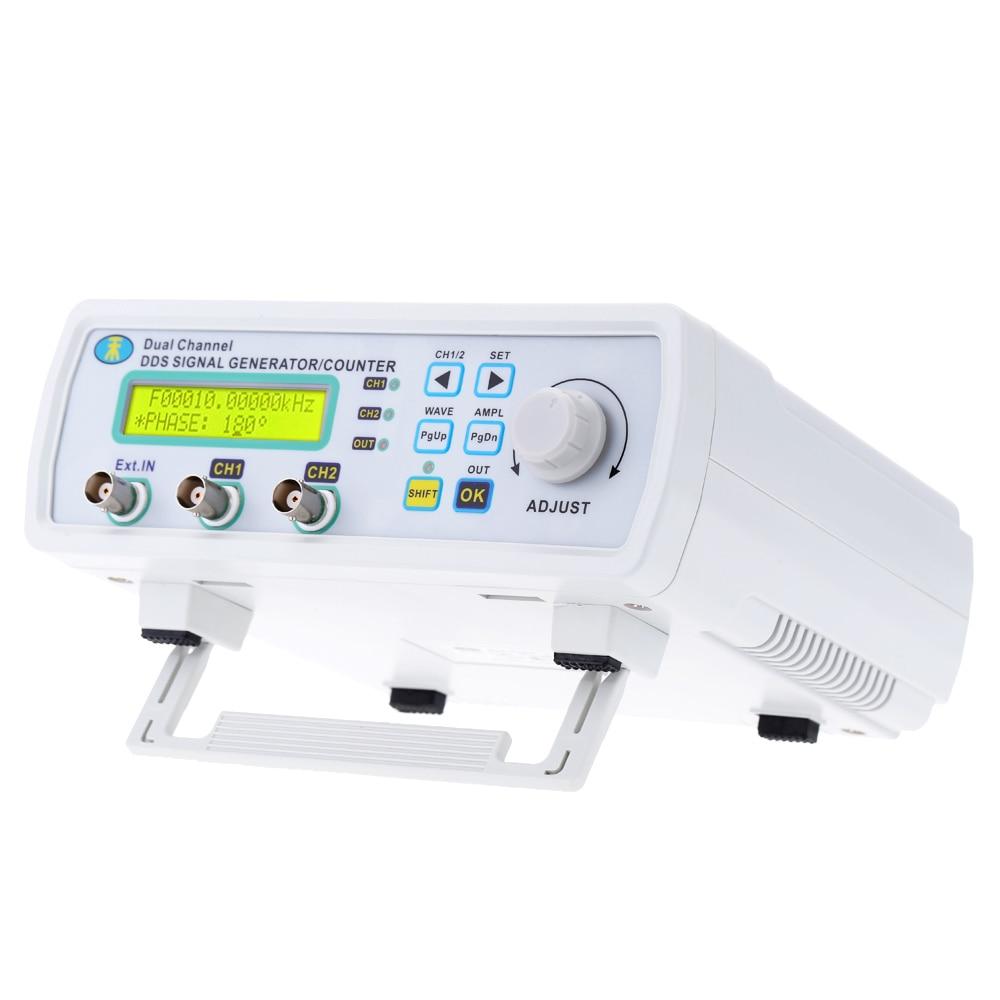 Signal Generator 2 channel DDS function Generator Arbitrary sine Waveform Frequency Generator 200MSa s 6MHz