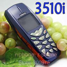 Nokia 3510i старый дешевый телефон Восстановленный NOKIA 3510i сотовый телефон разблокированный английская клавиатура