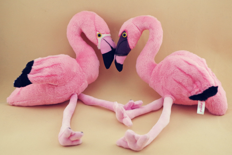Simulation Animal Flamingo Bird Pink Cute Kawaii Soft Stuff Plush Toy Doll Girl Birthday Gift Home Decoration original special cartoon mini vintage goofy dog cute soft stuff animal plush toy birthday gift 10cm collection