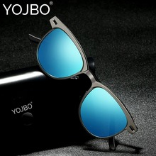 YOJBO Brand Designer Sunglasses Men Polarized Pilot Driving