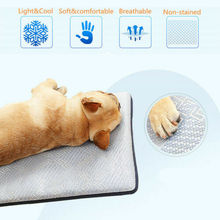 Practical Gel Cooling Mat for Dog Cat Pet Self cooling pillow Summer Breathable Hot Weather Bed Mats